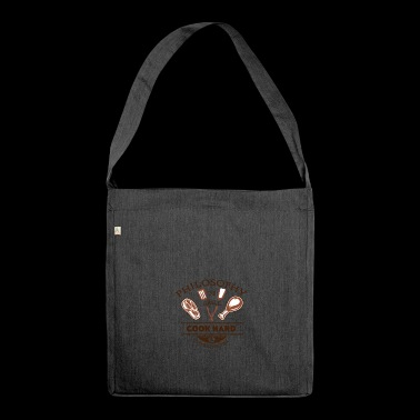 PHILOSOPHY go barbecue - Shoulder Bag made from recycled material