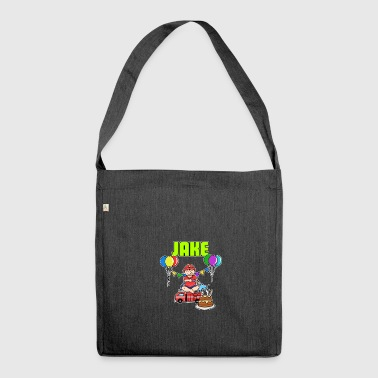 Fire Department Jake Gift - Shoulder Bag made from recycled material
