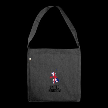 United Kingdom - Borderlines - Shoulder Bag made from recycled material