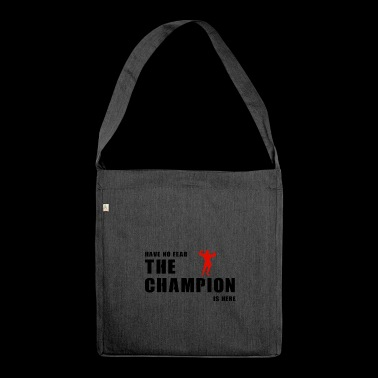 Champion is here - Shoulder Bag made from recycled material