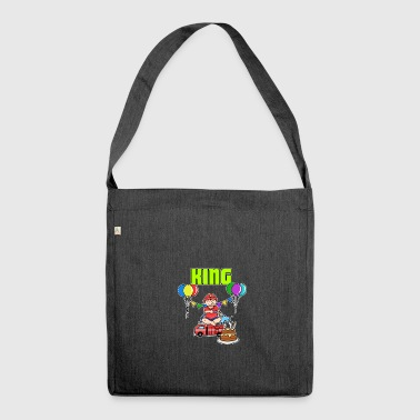 Fire Brigade King Gift - Shoulder Bag made from recycled material