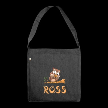 Eule Ross - Schultertasche aus Recycling-Material