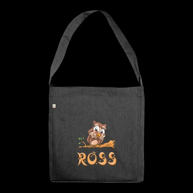 Owl Ross - Shoulder Bag made from recycled material