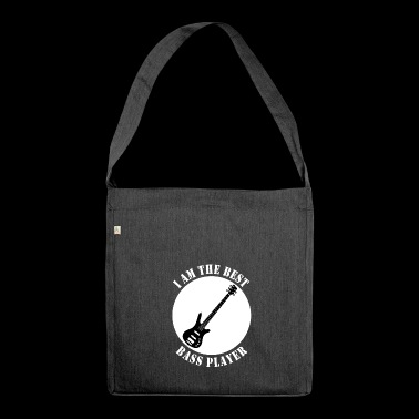 The Best Bass Player - Shoulder Bag made from recycled material