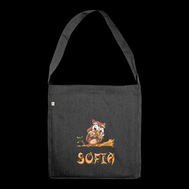 Owl Sofia - Shoulder Bag made from recycled material