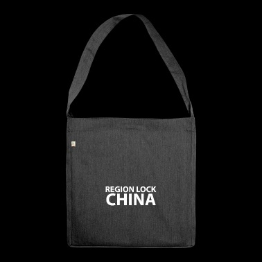 Region lock china - Shoulder Bag made from recycled material