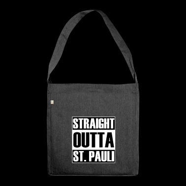 Straight Outta St. Pauli - Shoulder Bag made from recycled material