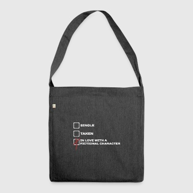 Funny checklist fictional character gift idea - Shoulder Bag made from recycled material
