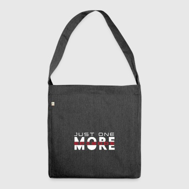 Just One More Episode. Serienjunkie. gift idea - Shoulder Bag made from recycled material