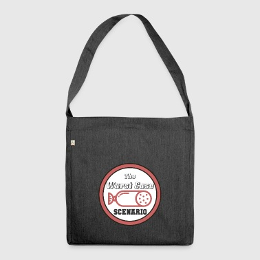 The sausage Case Scenario - Shoulder Bag made from recycled material