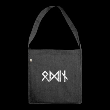 Odin Norse mythology Asgard gift idea - Shoulder Bag made from recycled material