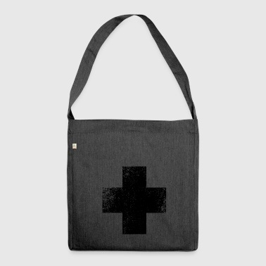 SHAPES SHAPE GRUNGE - Shoulder Bag made from recycled material