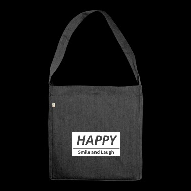 Happy! - Shoulder Bag made from recycled material