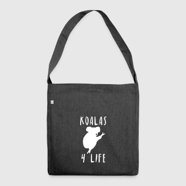 Koalas 4 Life Koalafan Outback Australia Gift - Shoulder Bag made from recycled material