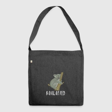 Koalafied Koala Australia Outback Gift Idea - Shoulder Bag made from recycled material