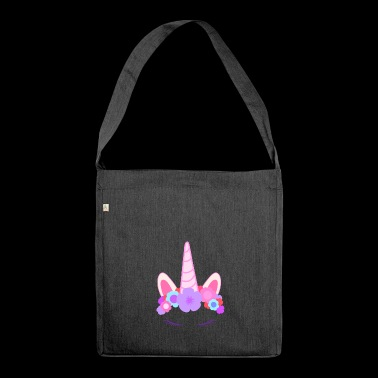 The Last Unicorn con ciglia - Borsa in materiale riciclato