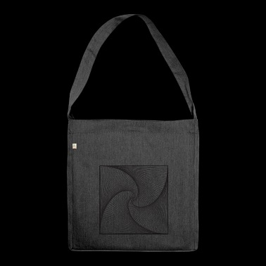 Geometry design - Shoulder Bag made from recycled material