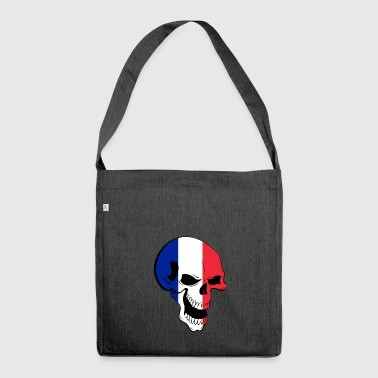 Skull France - Shoulder Bag made from recycled material