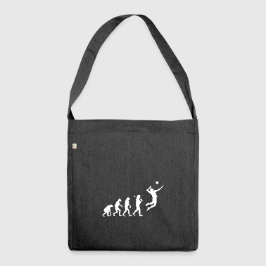 Evolution Volleyball Player Gift Sport Volley - Shoulder Bag made from recycled material