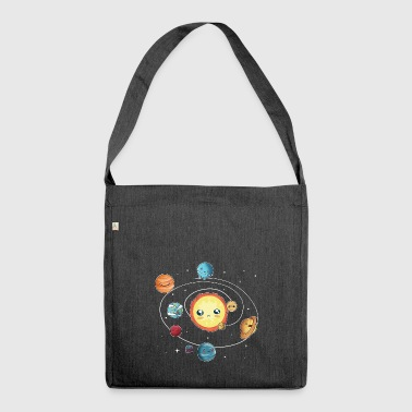 the solar system - Shoulder Bag made from recycled material