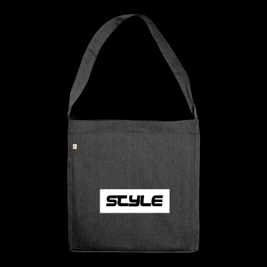 STYLE - Schultertasche aus Recycling-Material