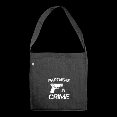 Partners in crime Partners in Crime idea - Shoulder Bag made from recycled material