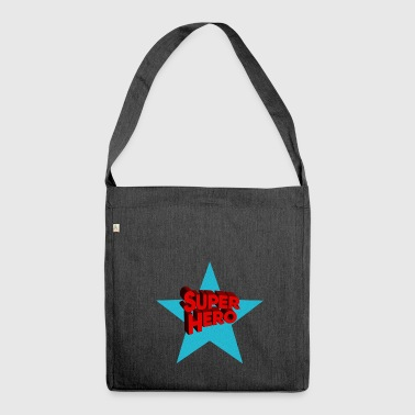 Superhero superheroes - Shoulder Bag made from recycled material