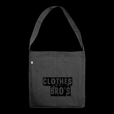 clothes bros - Shoulder Bag made from recycled material