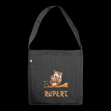Owl Rupert - Shoulder Bag made from recycled material