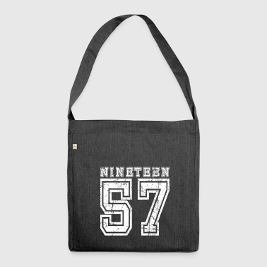 NINETEEN 1957 - Shoulder Bag made from recycled material