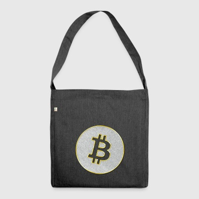 Bitcoin Bling Bling - Shoulder Bag made from recycled material
