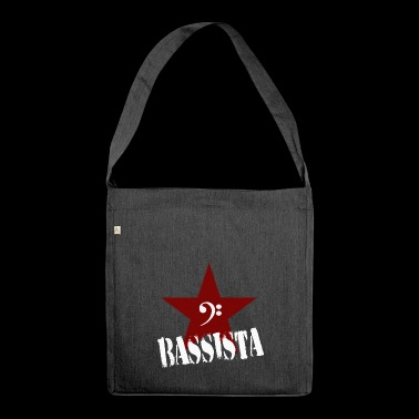 bassista - Borsa in materiale riciclato