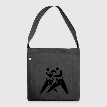 karate martial arts thai boxing ninja kickboxing9 - Shoulder Bag made from recycled material