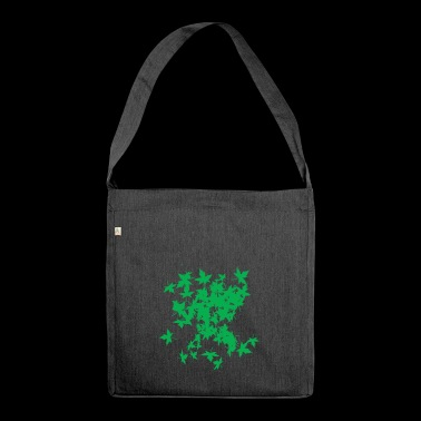 LEAF TREE GREEN - Sac bandoulière 100 % recyclé
