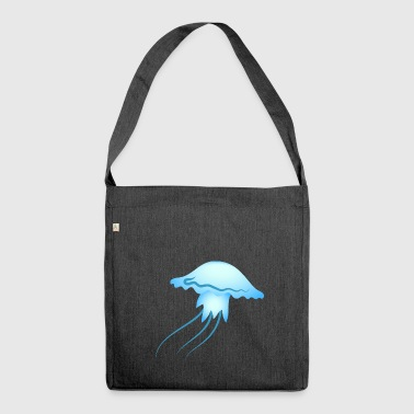 jellyfish - Shoulder Bag made from recycled material