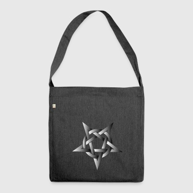Pentacle Pentacle Metal Music Shirt - Shoulder Bag made from recycled material