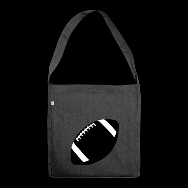 american football - Schultertasche aus Recycling-Material