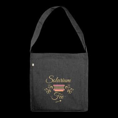 Solarium Fee - Schultertasche aus Recycling-Material