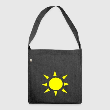 Sun - Shoulder Bag made from recycled material