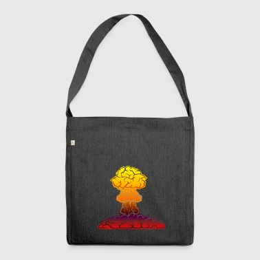 mushrooms mushrooms fungi veggie vegetables vegetables1 - Shoulder Bag made from recycled material