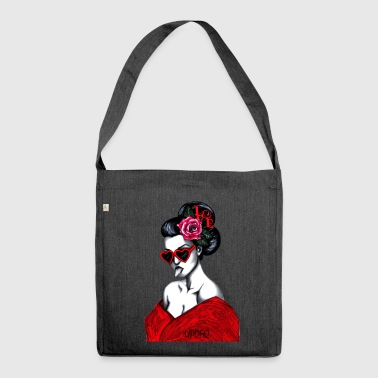 GEISHA - Shoulder Bag made from recycled material