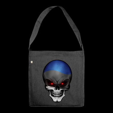 Skull Estonia - Shoulder Bag made from recycled material