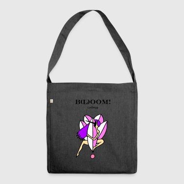 Bloom pink - Shoulder Bag made from recycled material