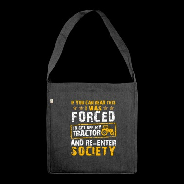 Tractor Shirt · Agriculture · Descended - Shoulder Bag made from recycled material