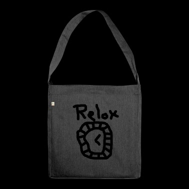 Relox Luxus - Schultertasche aus Recycling-Material