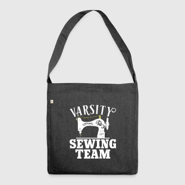Varsity Sewing Machine Team - Sewing - Shoulder Bag made from recycled material