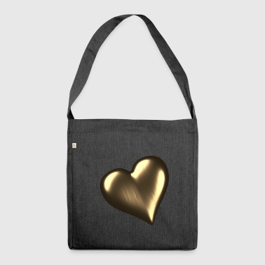 Heart of Gold / Heart of Gold - Shoulder Bag made from recycled material