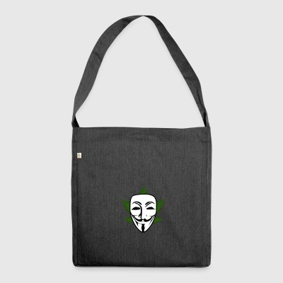 anonym - Schultertasche aus Recycling-Material