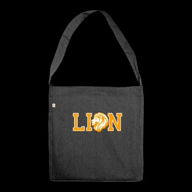 Proud Lion - Shoulder Bag made from recycled material
