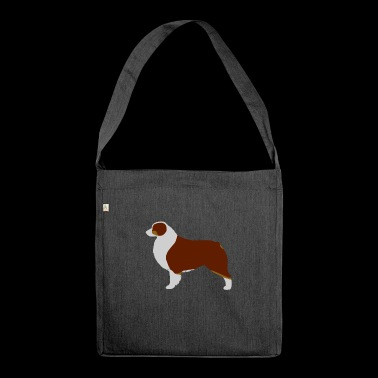 Australian Shepherd (Red Tri) - Borsa in materiale riciclato
